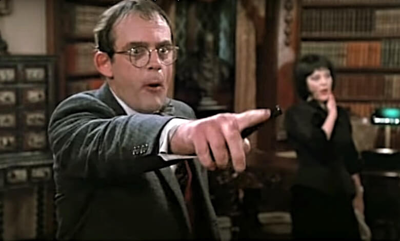 Clue movie review 1985 Christopher Lloyd