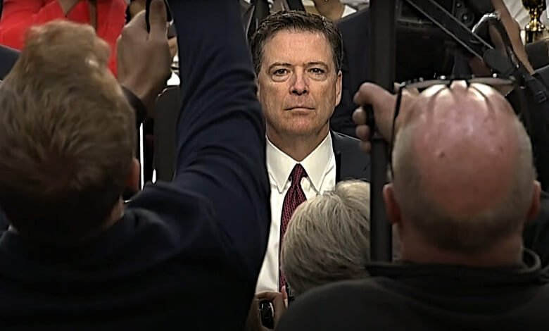 CBS A Higher loyalty James Comey