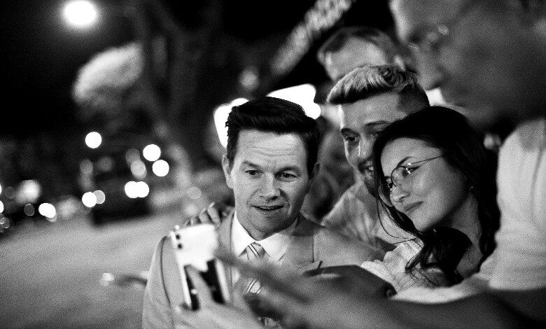 mark wahlberg spencer confidential premiere