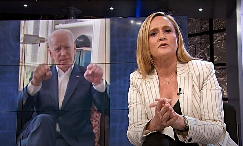 samantha bee joe biden