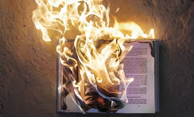 Minneapolis book stores destroyed