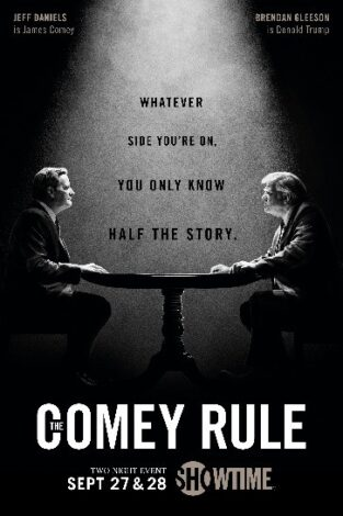 the comey rule poster