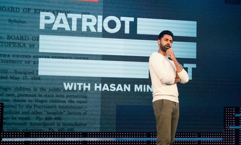 patriot act hasan minhaj patriot act complaints