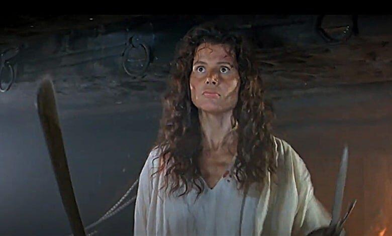 cutthroat island review Geena Davis