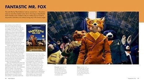fantastic mr fox snippet wes anderson iconic filmmaker book