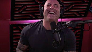 joe rogan laughing spotify