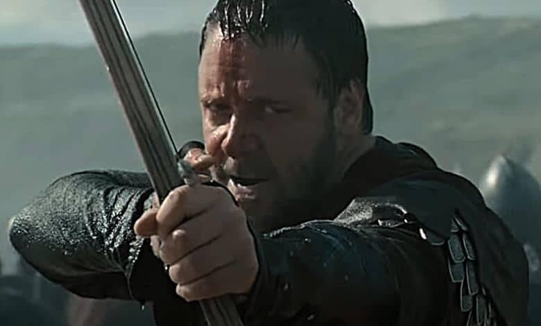 robin hood russell crowe arrow review