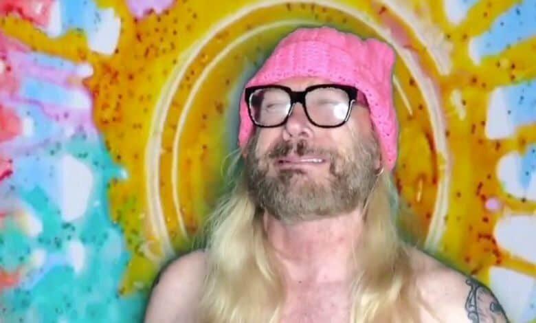 steve mudflap mcgrew liberal larry tie dye