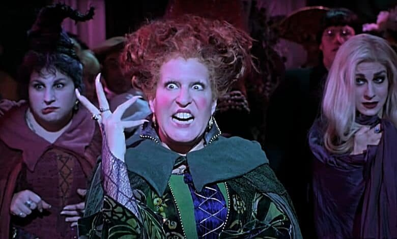Bette Midler Hocus Pocus 2 Disney Tweets