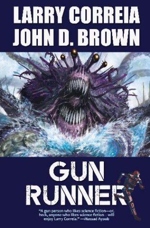 Gun Runner book cover Correia Brown 1