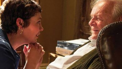 Photo of Sir Anthony Hopkins Brings His 'A-plus' Game to 'The Father'