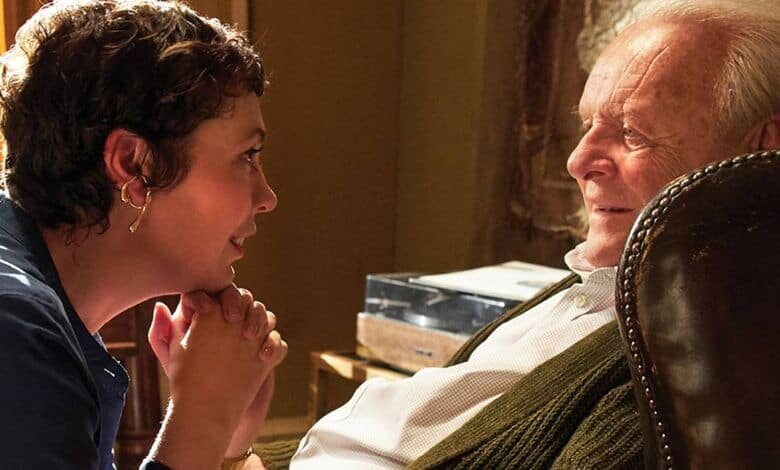 the father olivia colman anthony hopkins