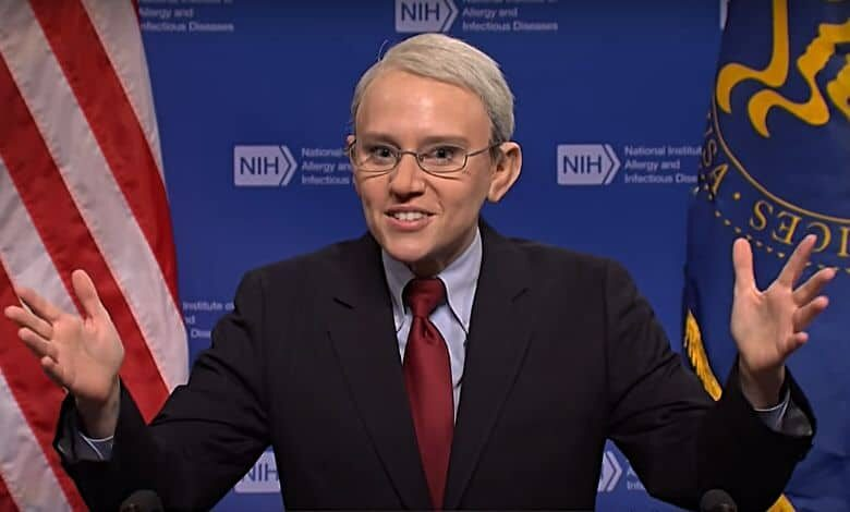 dr. anthony fauci kate mckinnon comedy