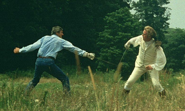 sweet liberty blu-ray review alan alda fencing