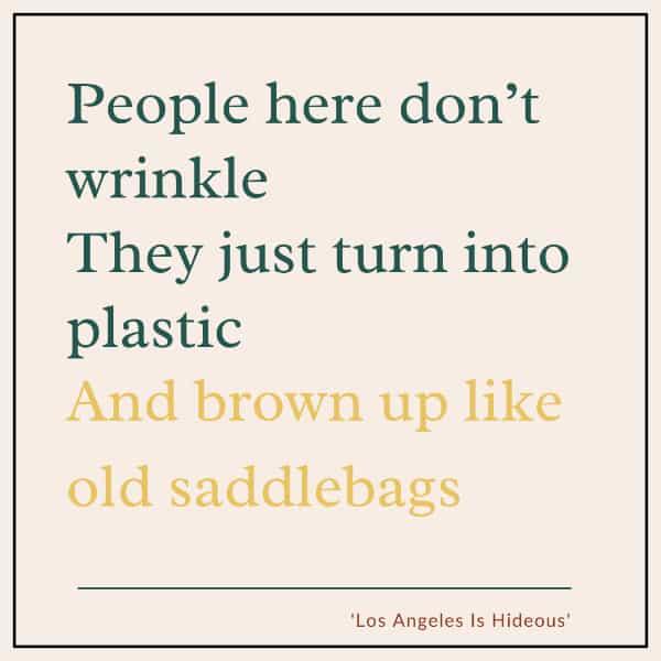 Los Angeles is Hideous quote Andrew Heaton