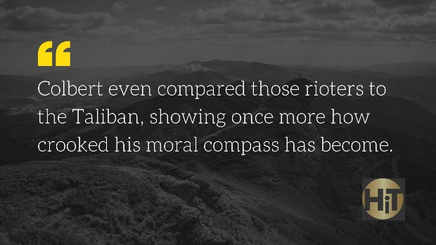 Stephen Colbert quote about MAGA Taliban