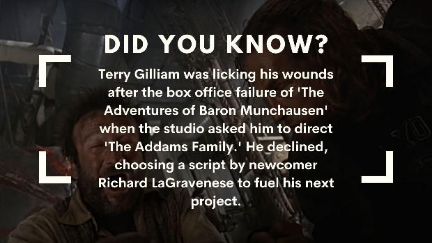 Fisher King Addams Family trivia