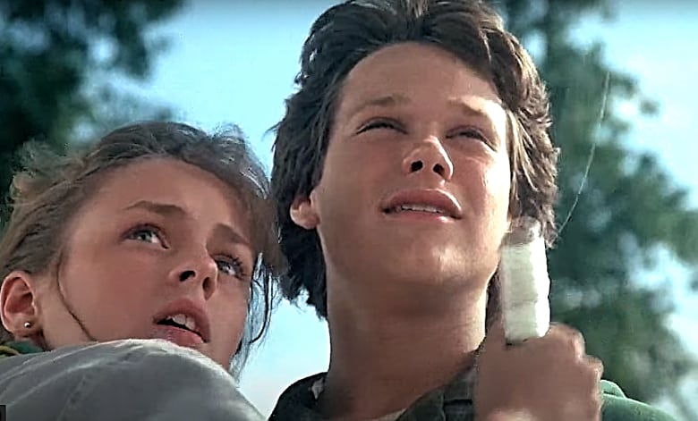 boy who could fly movie review 1986