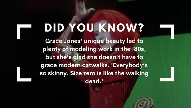 Grace Jones trivia modeling