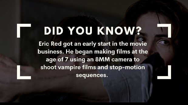 body parts Eric red facts